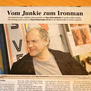 Was hat die Schallplatte mit Uwe Ochsenknecht zu tun?