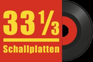 33 ⅓ Schallplattenladen in Duisburg Logo