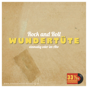 33 1/3 Schallplatten-Wundertüte