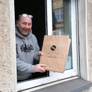 33 1/3 Schallplatten-Fenster