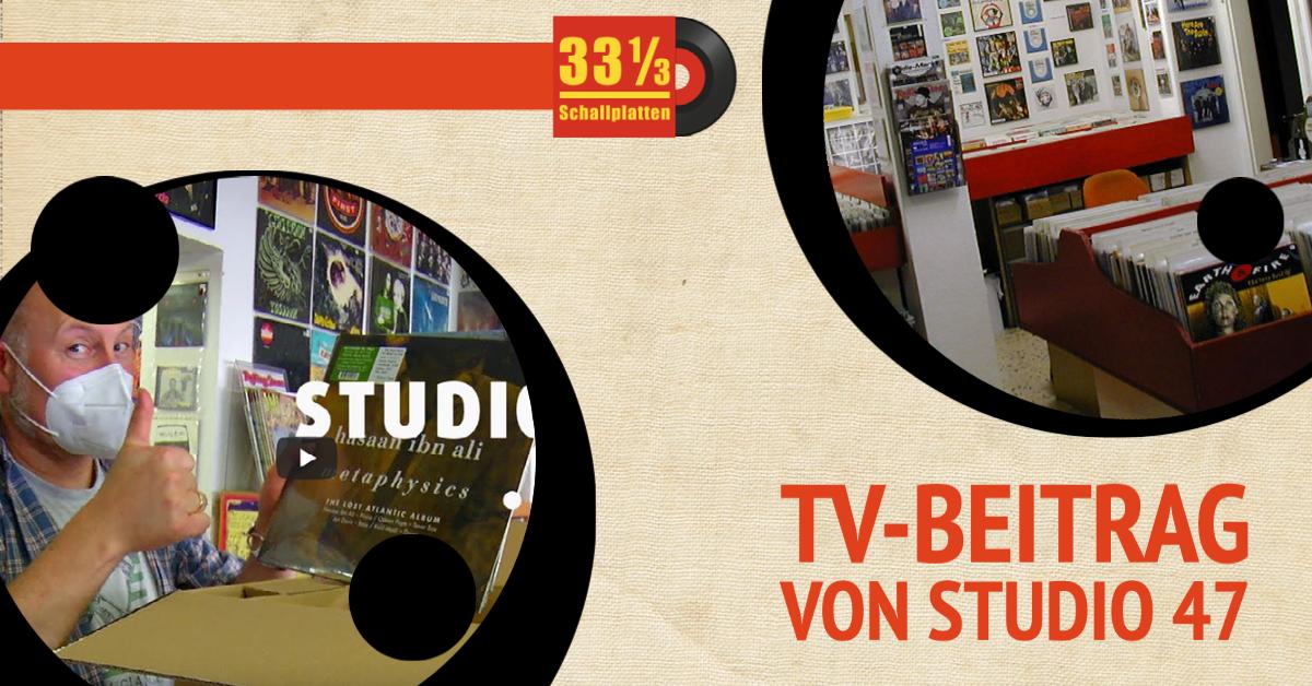 33 1/3 Schallplatten Duisburg bei STUDIO 47