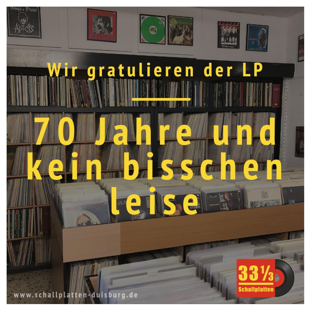 70 Jahre und kein bisschen leise – wir gratulieren der LP!
